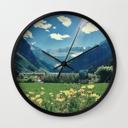 Lake Louise Dream Wall Clock