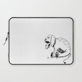 DOODLE DINO BARF DOG Laptop Sleeve