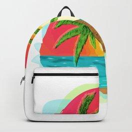 Palmera tree Backpack