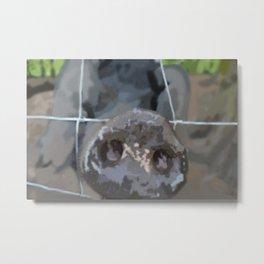Pig Repaint Metal Print