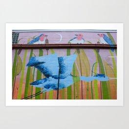Concrete Oasis II Art Print