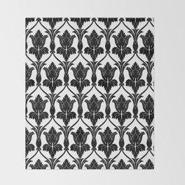 221B Baker Street - Fleur de lis. Throw Blanket