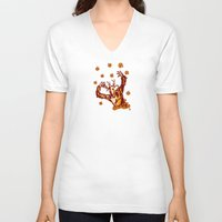 carnival V-neck T-shirts featuring carnival by eduardo vargas