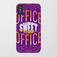 the office iPhone & iPod Cases featuring Office Sweet Office by Roberlan Borges