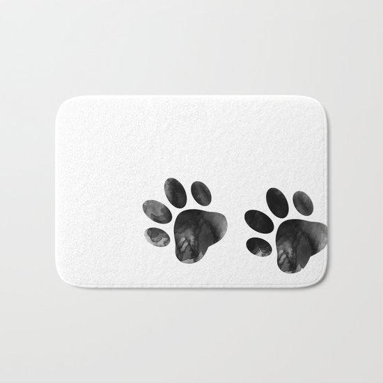 Cat's footprints Bath Mat