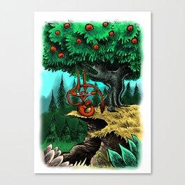 Under the Mango Tree Canvas Print