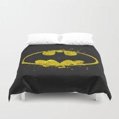 Bat man's Splash Duvet Cover