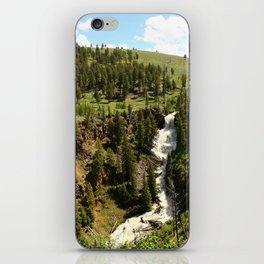 Undine Falls Yellowstone N P iPhone Skin