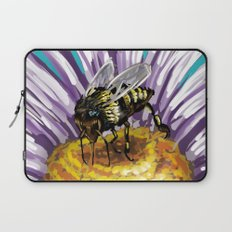 Wasp on flower 3 Laptop Sleeve