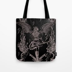 The Other Side (Grey) Tote Bag
