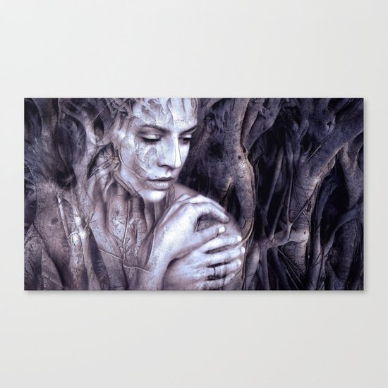 Within The Tree Canvas Print