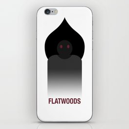 Flatwoods (She's not a monster) iPhone Skin