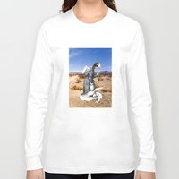write Long Sleeve T-shirts featuring Don't Forget To Write by Michael Harford