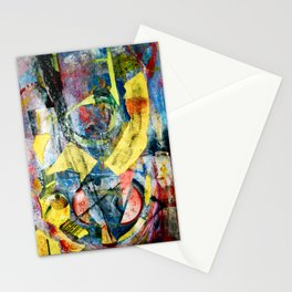 Time Collage Stationery Cards