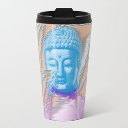 Glitch Buddha Travel Mug