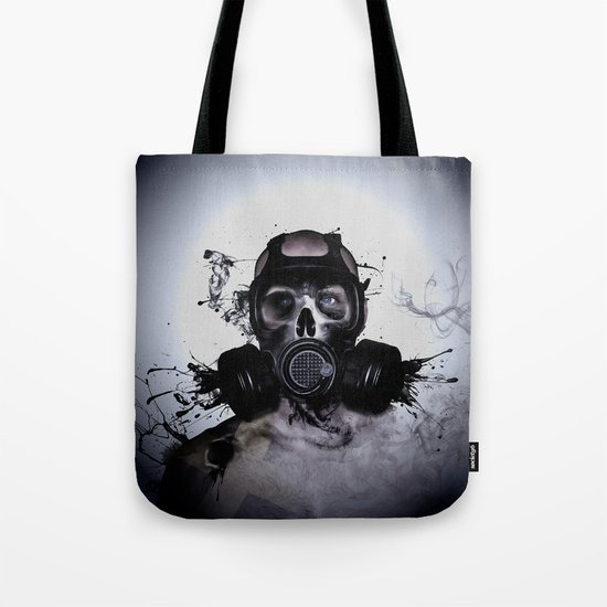 Zombie Warrior Tote Bag