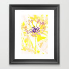 Floral abstract(3). Framed Art Print