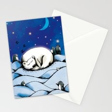 ours polaire Stationery Cards