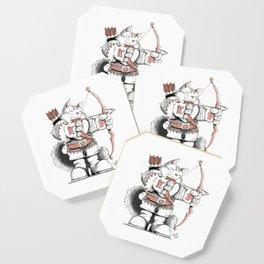 Archer Mainecoon Cat Coaster