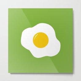 Easter Eggs (green) Metal Print