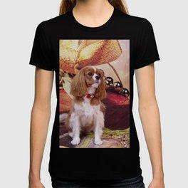 Ribbons, Bells And Cavalier King Charles Spaniel T-shirt