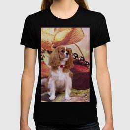 Ribbons, Bells And Cavalier King Charles Spaniel T-shirt