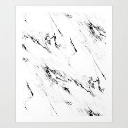 Classic Marble Art Print