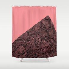 - monolith - Shower Curtain