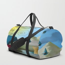 Hello Dali Duffle Bag