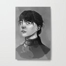 Noir beauty Metal Print