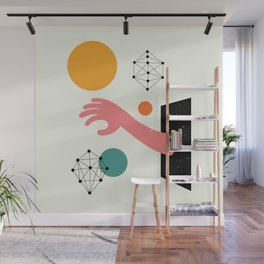 Searching Wall Mural