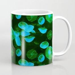 Green Jellyfish Coffee Mug