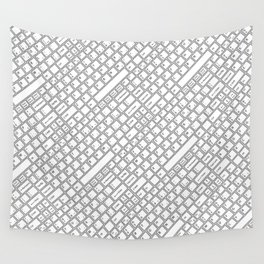 Keyboarded Wall Tapestry