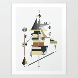 losing balance Art Print