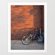 Do Not Worry How The Bicycle Looks Art Print