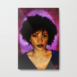 Jasika Nicole Portraits Metal Print