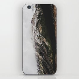 Snowcapped Mountains iPhone Skin