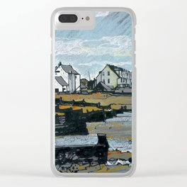 The Beach at Whitstable Clear iPhone Case