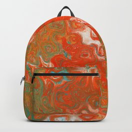 As Luck Would Have It, Abstract Art Backpack