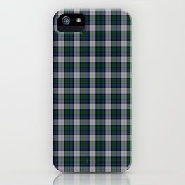 Graham Dress Tartan iPhone Case