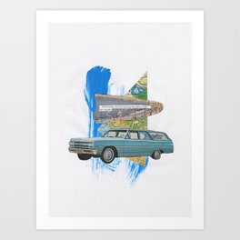 without people Art Print