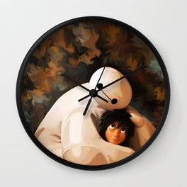 Baymax Love Wall Clock