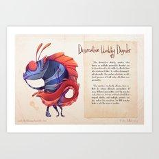 Real Monsters- Dissociative Art Print