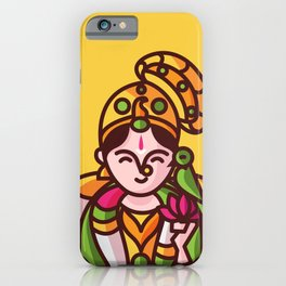 Srivilliputhur Andal iPhone Case