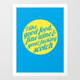 I Like .... Art Print