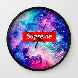 Supreme Nebula Wall Clock