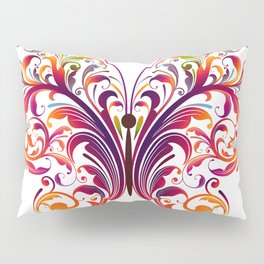 Floral Flutterby Pillow Sham
