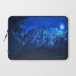 blue village Laptop Sleeve