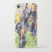 football iPhone & iPod Cases featuring Football by Artist31