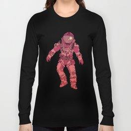 Adrift In Space (For David) Long Sleeve T-shirt